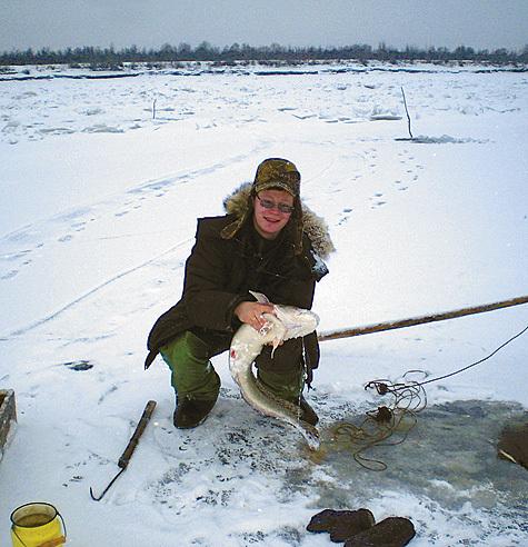 ловля налима на мелких реках