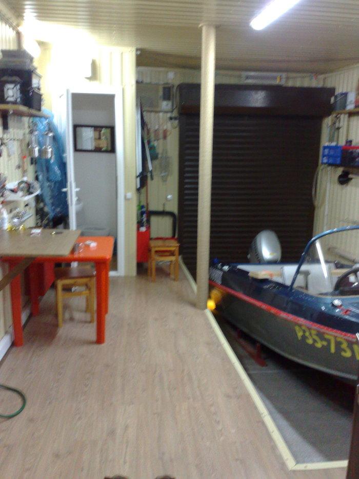 В лодочном кооперативе разлив