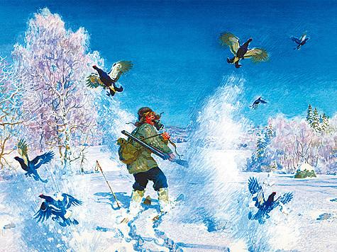 Рисунок Вадима Горбатова