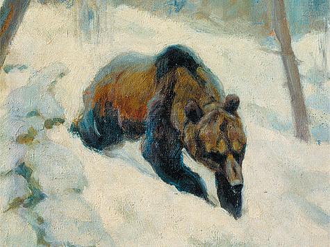 К.К. Флеров. «Медведь». Из собрания ГДМ.