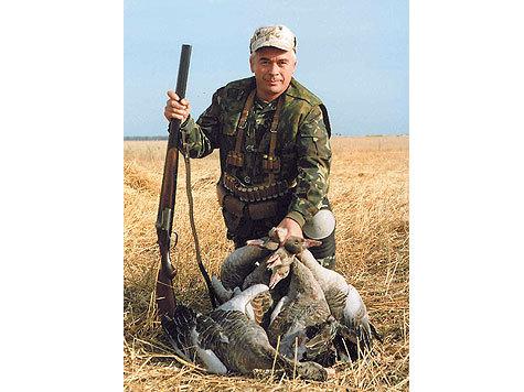 Серый гусь сегодня — один из самых престижных трофеев для охотников поперу. Автор фото:  Алексей Стефанович