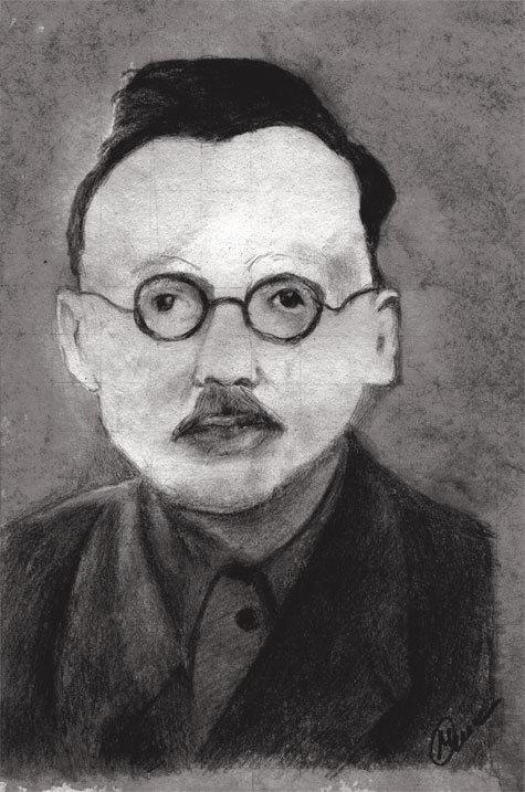 Портрет Ф.П. Кунилова сделан с фотографии начала XX века художником Иваном Синицей.