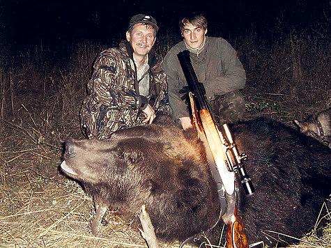 Если не считать дикого кабана, то бурый медведь по-настоящему самый опасный зверь в России. ФОТО ВИКТОРА ЛАБУСОВА