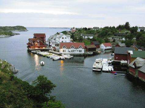 Мы сдрузьями, оказавшись вНорвегии, прокладывали рыболовные маршруты самостоятельно.