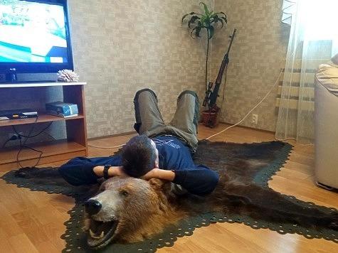 Одиночному охотнику запрещается преследовать раненого зверя. Иногда даже смертельно раненый, он устраивает засаду на своем следу и внезапно нападает. Фото: Семина Михаила