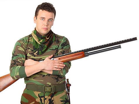 У меня бойцы с батальона «Днепр-1» просили ружье еще в 2014-м, я не дал. Фото: fotolia.com