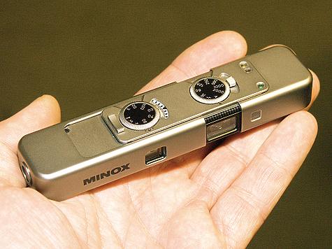 Последняя модификация классического аппарата MINOX TLX. Его серийное производство было «заморожено».