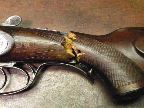 Реставрация ружья своими руками