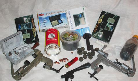 Приборы и приспособления для снаряжения охотничьих патронов