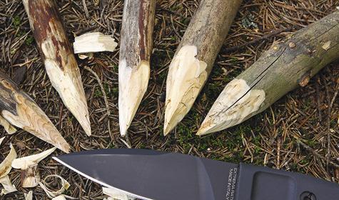 Современный армейский нож в гражданской интерпретации всегда имеет избыточные для «мирного» использования характеристики.