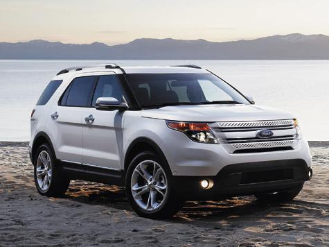 За богатую начинку электроникой фордовский внедорожник уже прозвали помесью джипа игаджета.