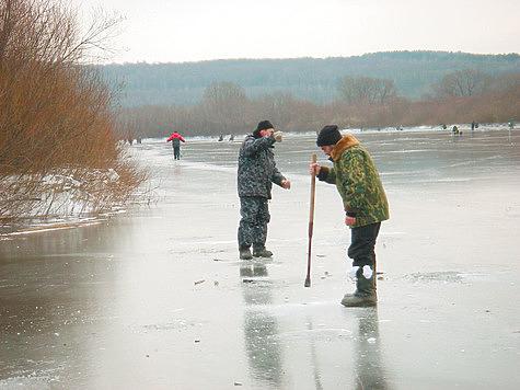 веселовское водохранилище.зимняя рыбалка