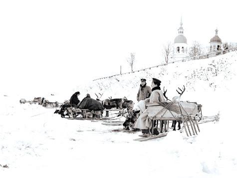 Город Архангельск вXIX веке был отправным пунктом многих полярных экспедиций, втом числе Чичагова, Литке, Русанова иПахтусова.