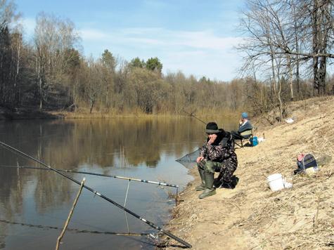 елецкие рыбаки
