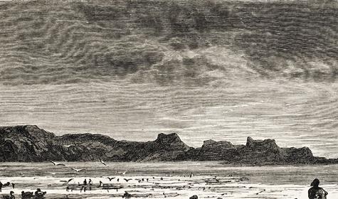Со второй половины XIX века уберегов Новой Земли активизировали свою деятельность норвежские промышленники.  Стала очевидной необходимость заселения Новой Земли российскими подданными.