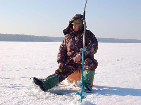 Хороший день, хороший лед, приятно экспериментировать. Фото: Андрей Яншевский.
