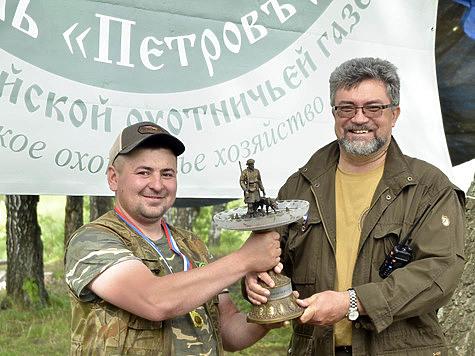 Леонид Сонин и Победитель кубка. Фото: Александра Гришина