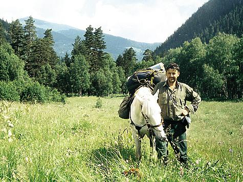 Леонид Дроздов— самый мужественный лаборант научного отдела, один из тех людей, кто хранит заповедник на пределе своих возможностей. Фото ЛЕОНИДА ДРОЗДОВА
