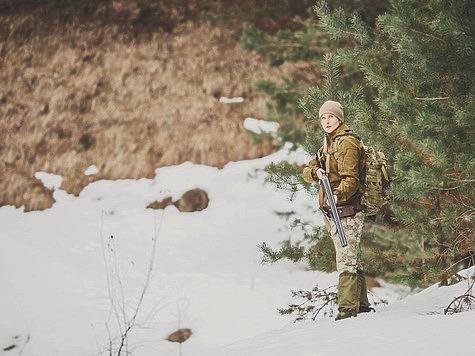 Женщина и охота: жизненная ситуация
