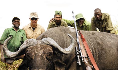 Фото Леонида Сонина. В 19 веке буйволы составляли до35% биомассы крупных копытных Черного континента.