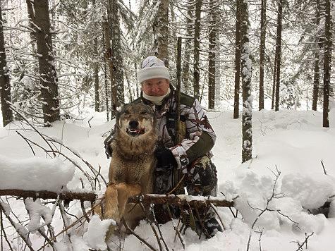 Охота с флажками, Российский охотничий портал