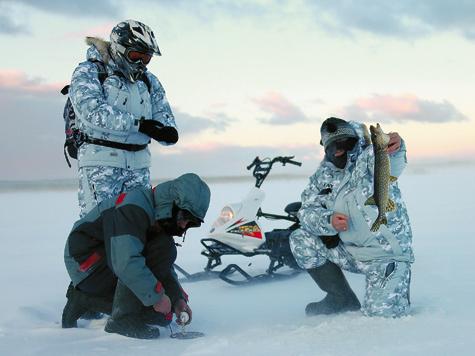 «Рыбинка»— снегоход «ближнего боя».  <br />Он четко ориентирован навояжи поукатанному снегу ипо льду нанебольшие расстояния.» title=»«Рыбинка»— снегоход «ближнего боя».<br /> <br />Он четко ориентирован навояжи поукатанному снегу ипо льду нанебольшие расстояния.»></p> <p><span></p> <p>«Рыбинка»— снегоход «ближнего боя». </p> <p>Он четко ориентирован навояжи поукатанному снегу ипо льду нанебольшие расстояния.</p> <p></span></p></div> <p><!-- лид --></p> <p>Чтобы в свое удовольствие и без особого напряжения порыбачить на льду в пределах десятка километров, вовсе не нужен полноценный снегоход. Вполне сгодится и такой аппарат, как «Рыбинка», созданный на известном снегоходном предприятии Рыбинска.</p> <p></p> <p>В отличие от всевозможных так называемых мотонарт и мотособак, «аппарат», несмотря на скромные по снегоходным меркам технические параметры, можно смело назвать полноценным снегоходом. За его рулем вы не лежите, не стоите, а с комфортом сидите. Есть полноценная фара и электростартер.</p> <p></p> <p>Подвеска у гусеницы пусть и катковая (читай: без подвески), но трак своими размерами (длина 2070 мм, ширина 280 мм, высота грунтозацепа 25 мм) обеспечивает хорошие ходовые свойства. Впереди пара лыж на «телескопах» (чем не снегоход?). Двигатель расположен на корме (кстати, как у самых первых снежных машин в прошлом веке).</p> <p></p> <p><div></div> <table class=