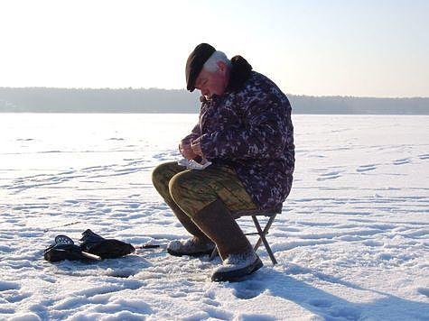 Первый выход на лед. Фото: Андрей Яншевский.