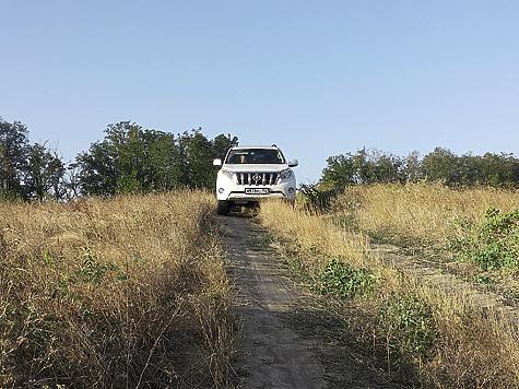 Дорожный просвет 215 мм позволяет свободно перемещаться по проселочным дорогам.