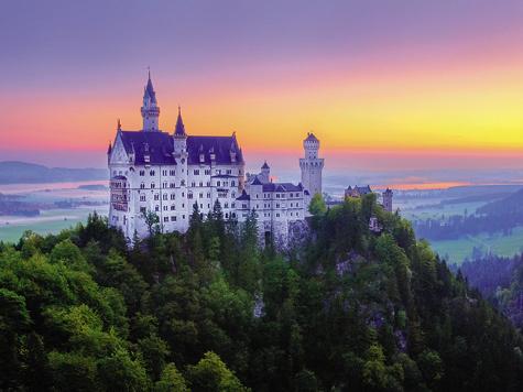 350 государств находилось натерритории современных Германии иАвстрии еще вначале XIX века.