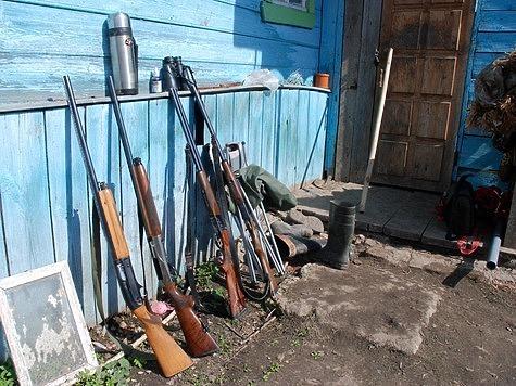 Кто и как будет осуществлять проверку условий хранения оружия у граждан? Фото: Игнатова Валентина.