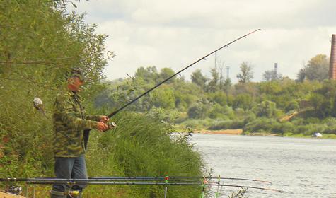 ловля рыбы на оке в районе каширы