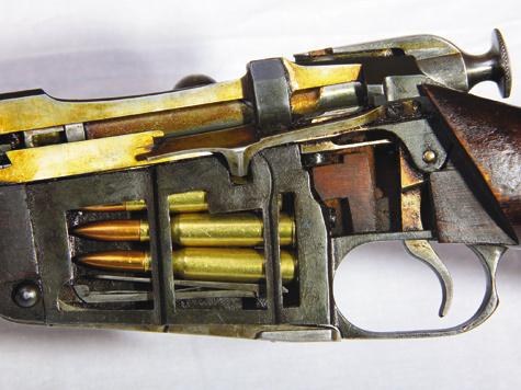 многозарядной винтовки на