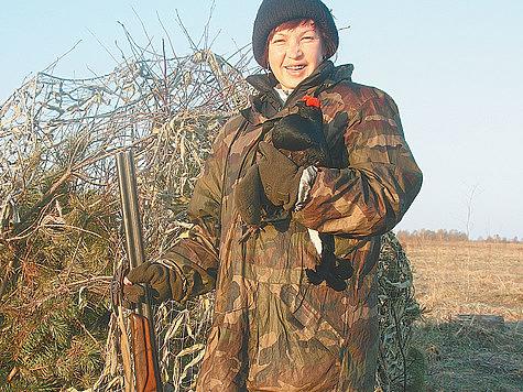 Когда жена — охотник