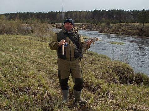 На реке Медведице. Фото автора.