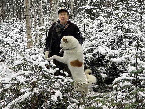 Пока в Центральной России октябрьская слякоть и хмарь, в Томской тайге уже вовсю лежит снег и властвуют трескучие морозы.