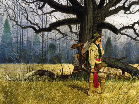12 килограммов весят крупные экземпляры самцов дикой индейки, самки гораздо легче ивесят вдвое меньше. Иллюстрация из архива Петра Зверева