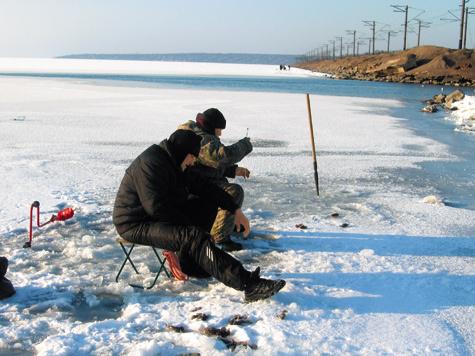 рыбалка на кучугурах