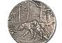 Редкая медаль Московского Общества Охоты