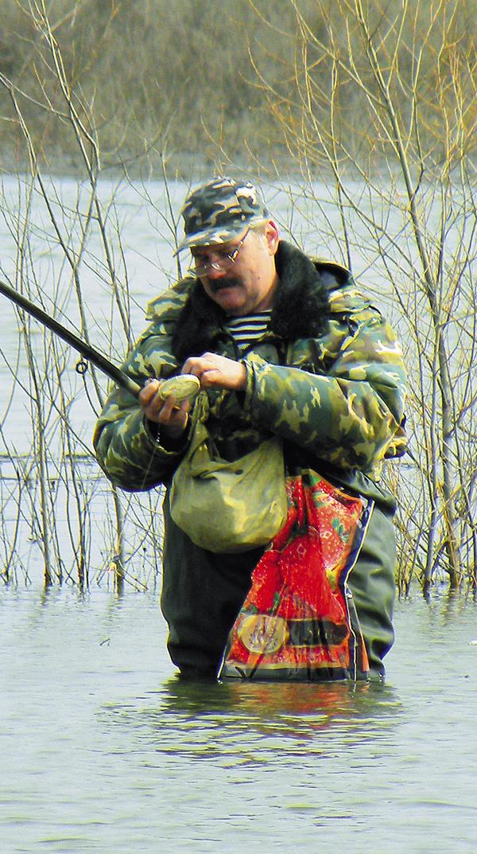 ловим рыбу в половодье