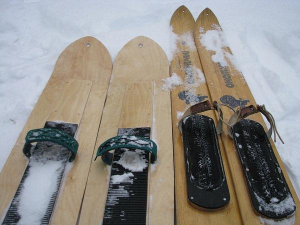 Ремонт пластиковых лыж своими руками фото