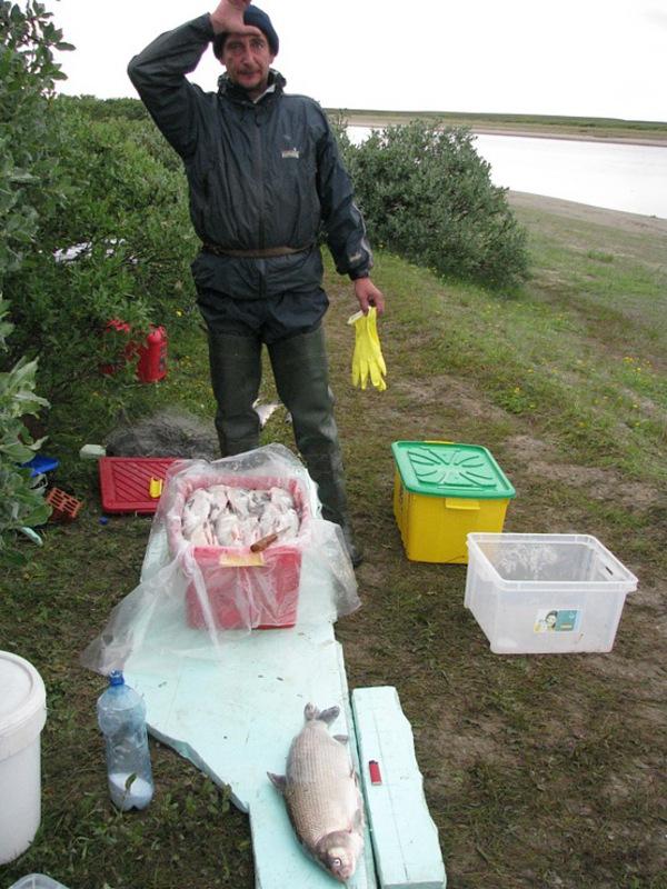 Полевая кухня рыбака