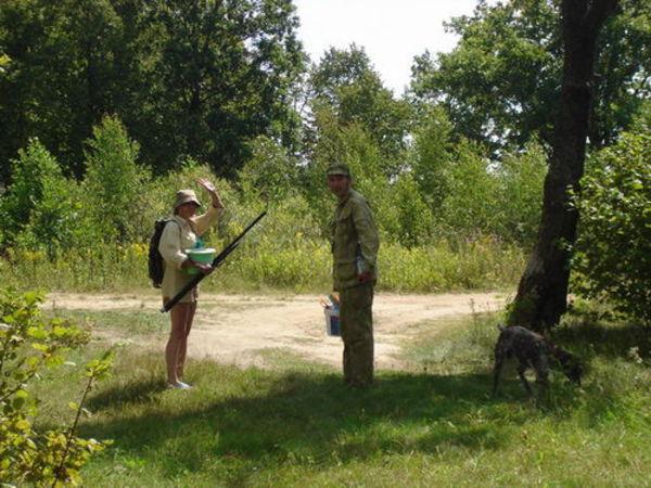 На открытии летней охоты