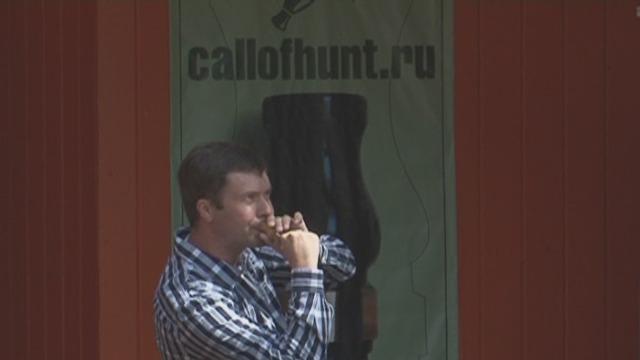 Андрея Смирнова (второе место) во втором туре в номинации утка