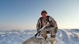 погоня за волком в Казахстане