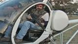 На кабана с вертолета